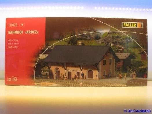 Faller 110125 Bahnhof Ardez Spur HO neu und OVP